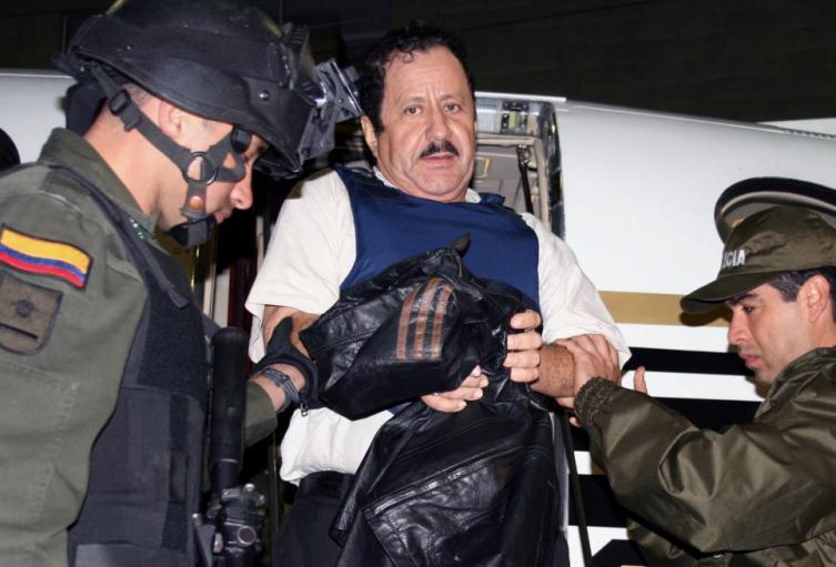 Exparamilitar de las AUC Hernán Giraldo Serna.