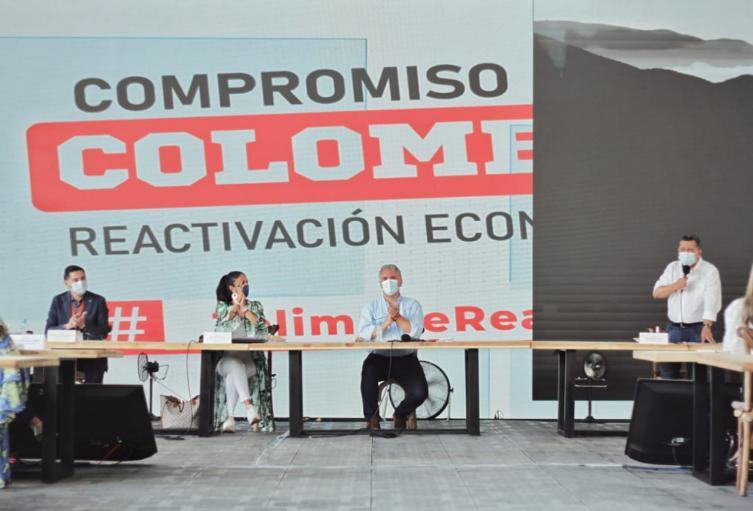 Presidente en el Tolima