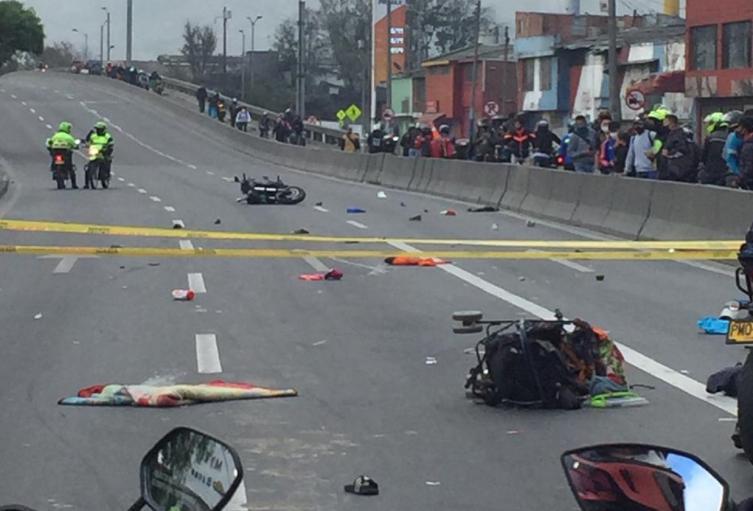 Bebé fallece tras ser arrollado por una motocicleta