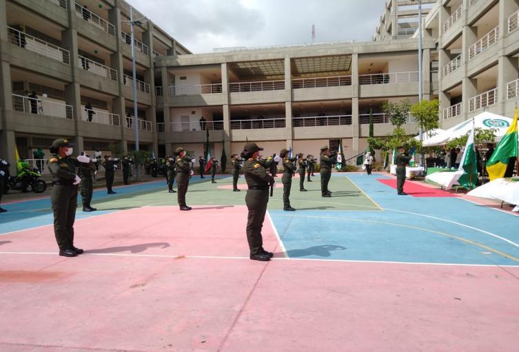 Auxiliares graduandas en el complejo de Picaleña