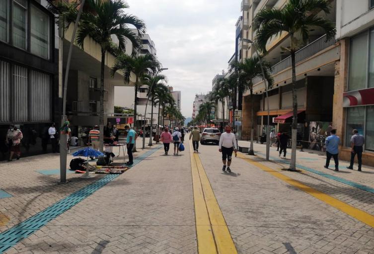 Carrera Tercera con calle 10 Ibagué 2021