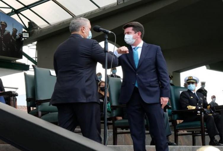 Presidente Duque posesionó a Diego Molano como nuevo ministro de Defensa