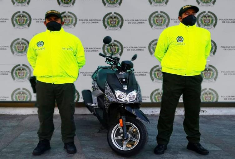 Volvieron a recuperar otra motocicleta avaluada en 11 millones en Melgar