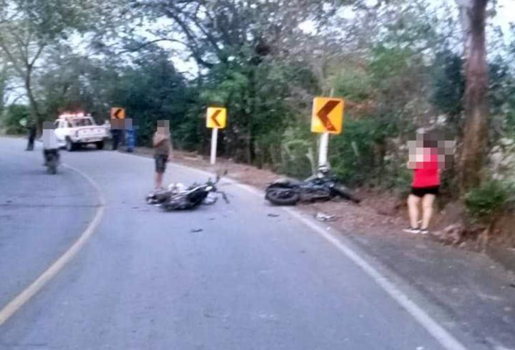 ¡Fatal accidente! Cuatro muertos dejó choque de dos motos en la vía Guamo – Ortega