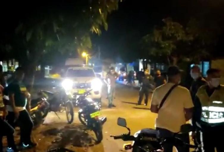 La Policía Tolima se tomó este fin de semana a Chaparral – Tolima