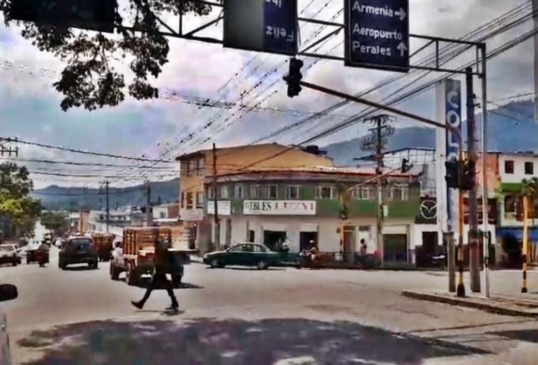 Semáforos robados en Ibagué 24 de febrero de 2021
