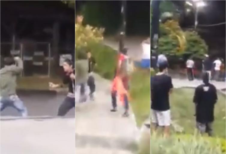 A cuchillo se agarraron jóvenes en el Skate Park de Ibagué
