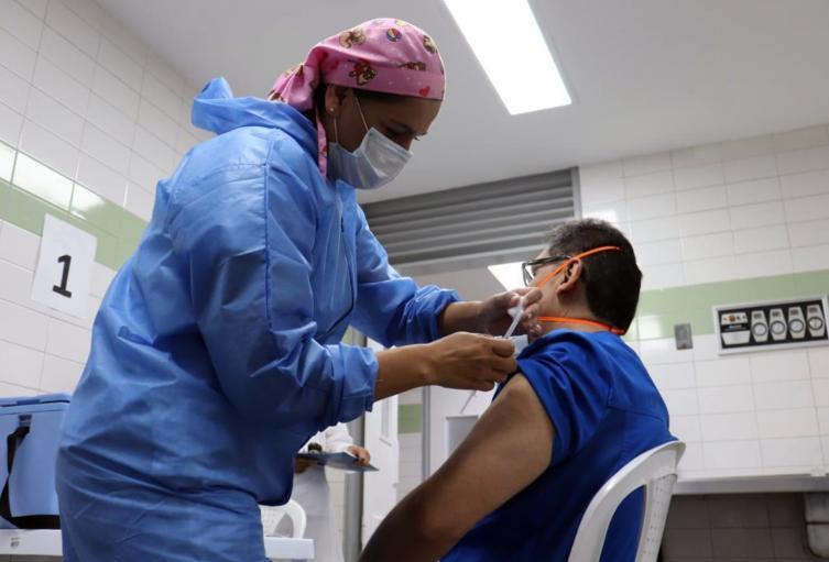 Vacunación contra el Covid-19 en Ibagué 2021