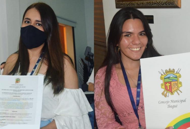 Maria Alejandra Rodriguez y Eilyng Arciniegas