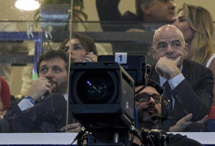 Gianni Infantino, Alejandro Domínguez