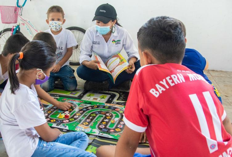 Alcaldía de Neiva inicia jornadas pedagógicas de educación vial con niñas y niños