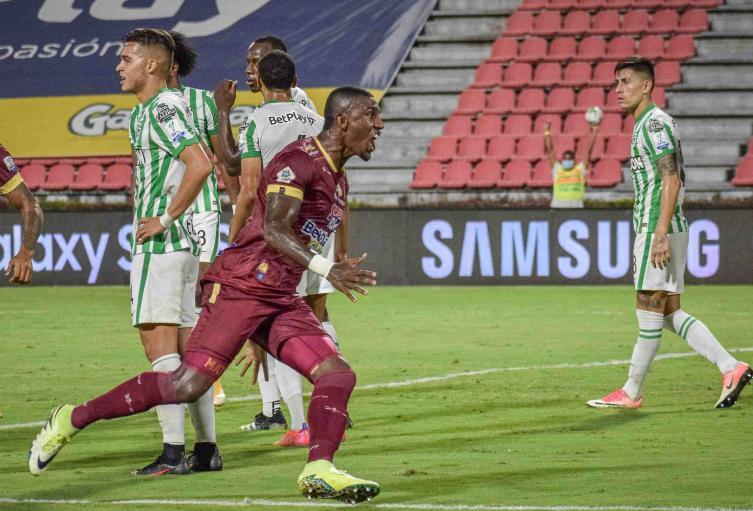 Tolima vs Nacional; Liga Betplay 2021