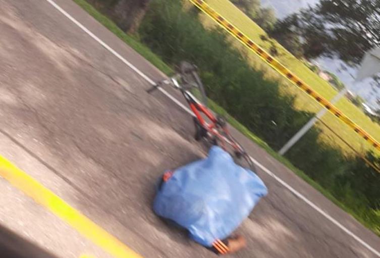 Identificaron al ciclista que se infartó en inmediaciones de la Vara del Salado