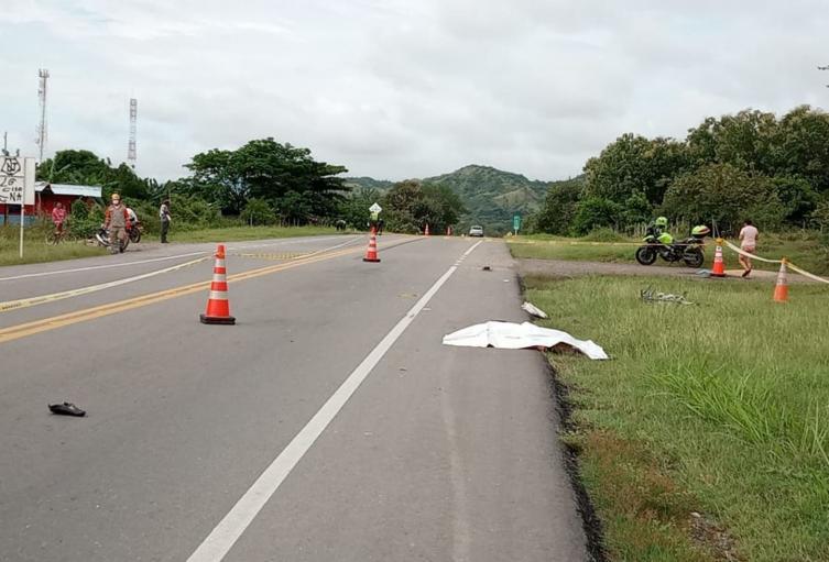 Abuelito ciclista fue atropellado por vehículo fantasma que le causó la muerte en la vía a Natagaima