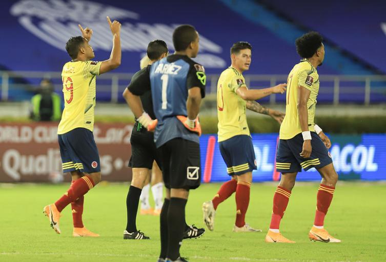 Selección Colombia, Eliminatorias
