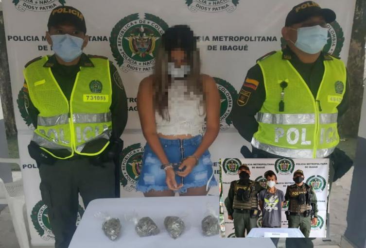 Sacaron de circulación en la comuna 8, 2.500 dosis de base de coca, 300 de marihuana y 124 de bazuco