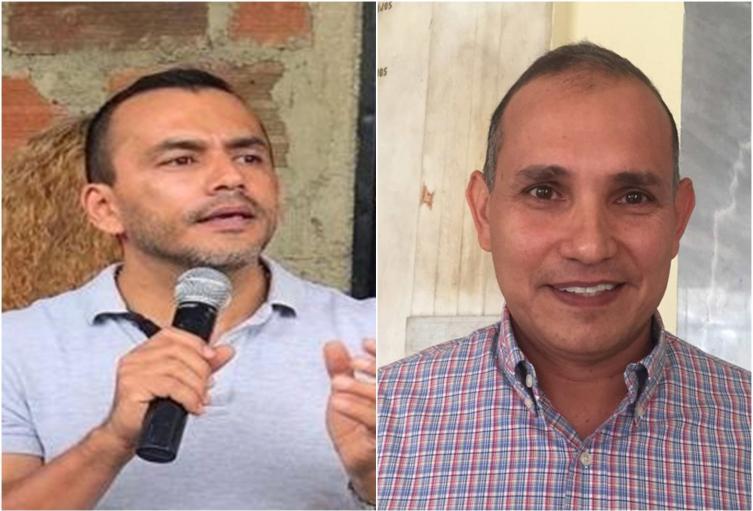 Concejal de Ibagué William Rosas y Ferney Varón
