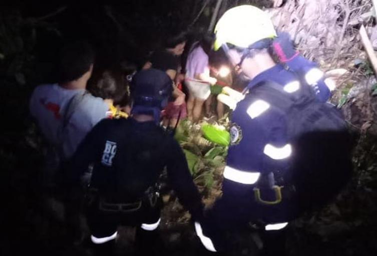 Rescataron 12 turistas extraviados en las cascadas 'Las Mieles' entre Melgar y Carmen de Apicalá