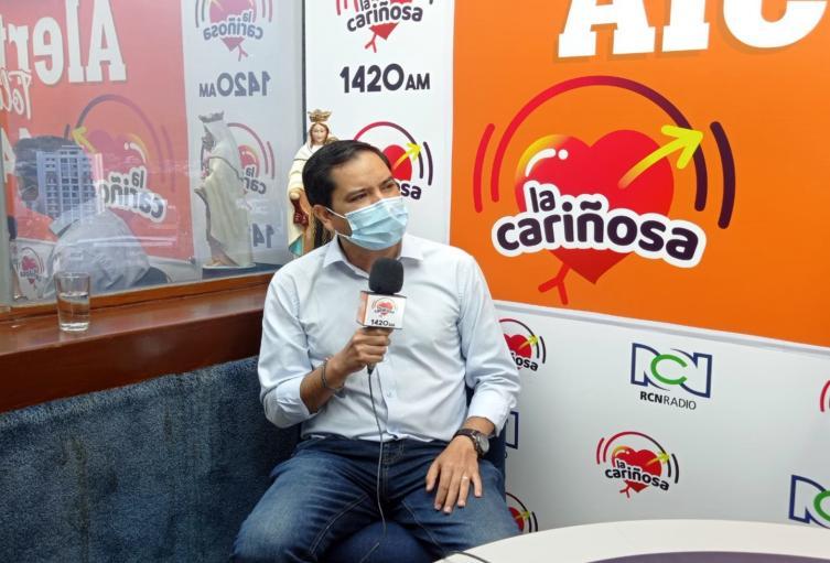 Secretario de Movilidad, César Fabián Yáñez, 2021 marzo