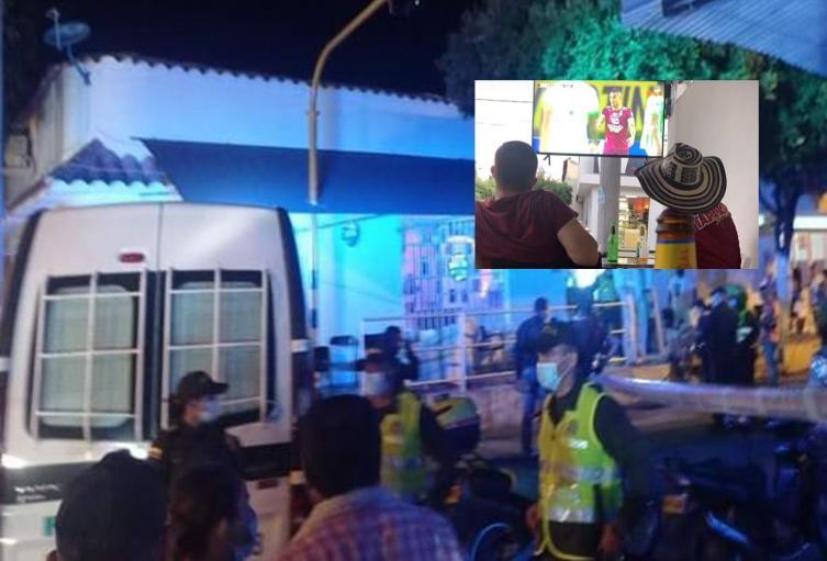 ¡Sicariato! Un muerto y un herido tras balacera en bar 'Sky Blue' de El Espinal