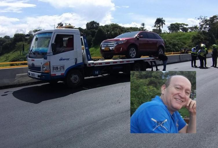 Hallaron abandonada la camioneta del empresario Jorg´s en el puente de la Variante
