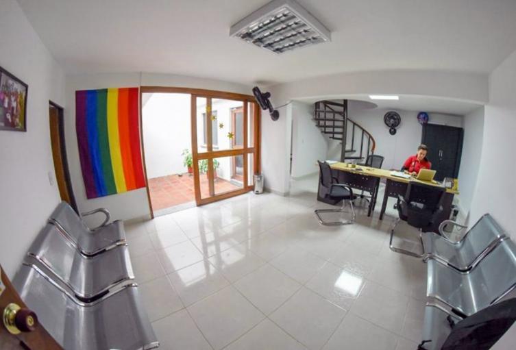 Casa para la comunidad LGBTI que había en el gobierno de Guillermo Jaramillo
