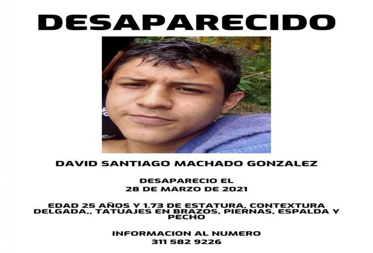 Se completaron 10 días de la desaparición de David Santiago del barrio Nacional en Ibagué