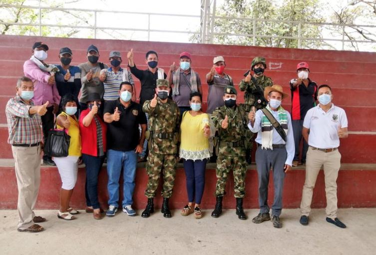 Comunidades indígenas de Coyaima participaron en taller de seguridad