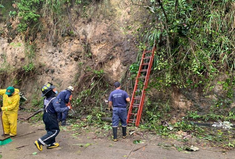 Deslizamientos en Ibagué