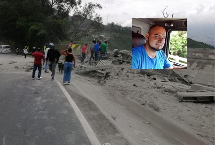 Recibieron cuerpo de conductor ibaguereño que murió sepultado por cemento que transportaba