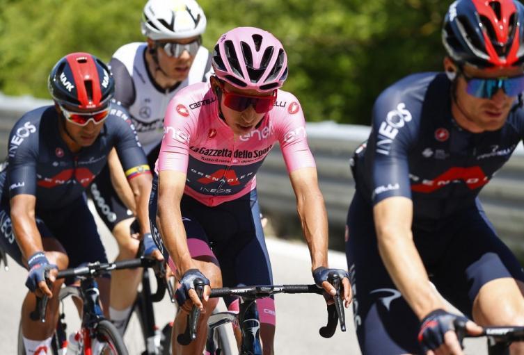 Giro de Italia 2021, Egan Bernal