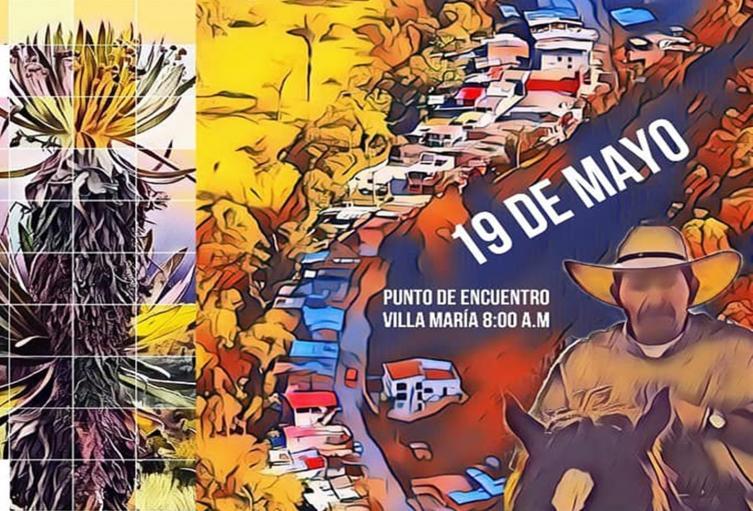 Movilización 19 de mayo del Cañón del Combeima en Ibagué