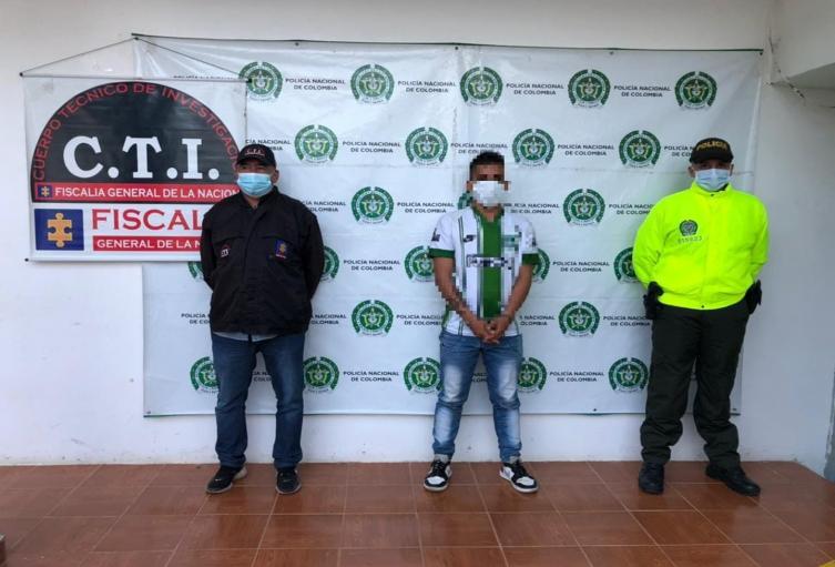 Por doble sicariato perpetrado hace pocos días en Chaparral le dieron captura a alias 'Pacheco'