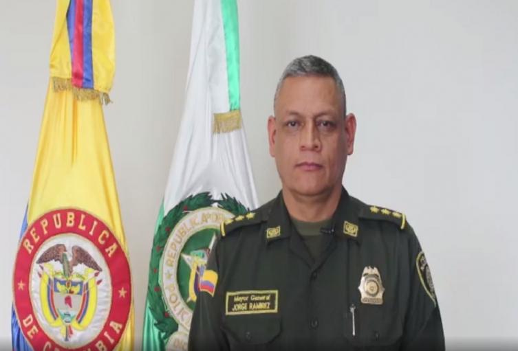 Tras la muerte de Santiago Murillo, llegó a Ibagué el inspector gral de la Policía Nacional