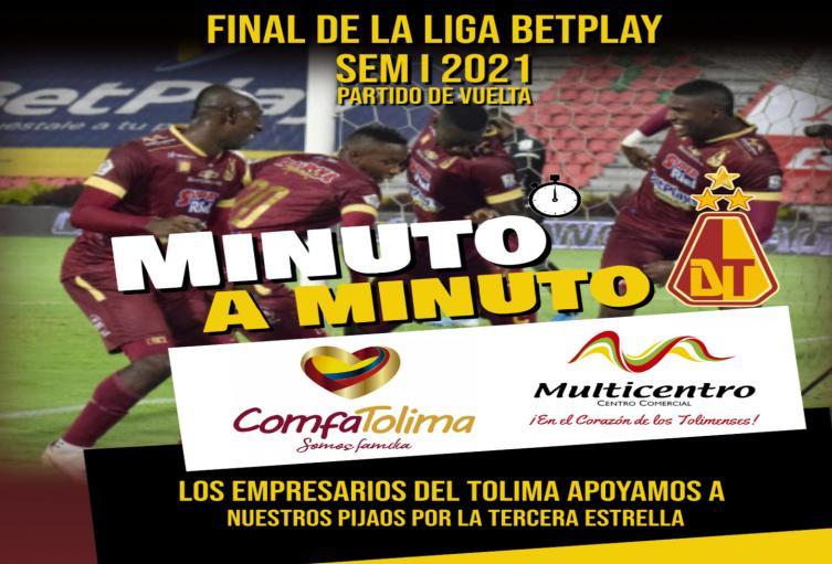 Deportes Tolima  vs Millonarios