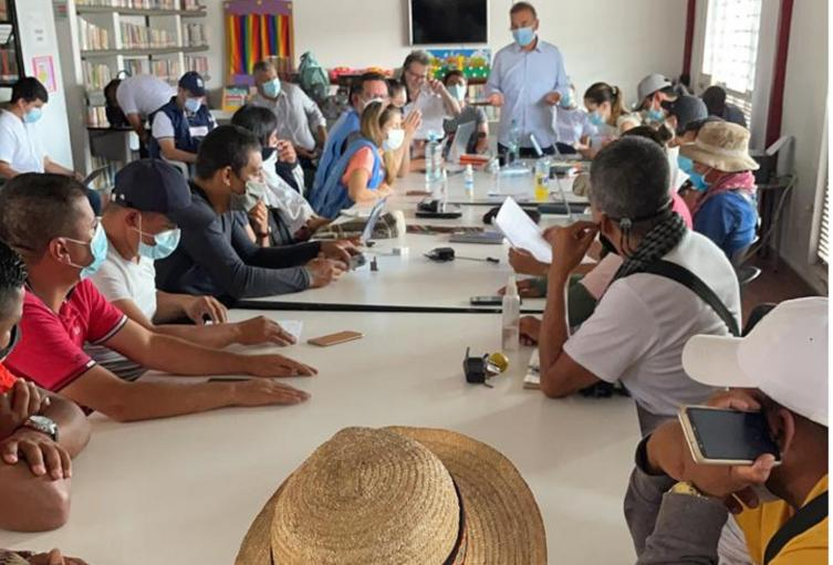 Mesa Acuerdos Altamira