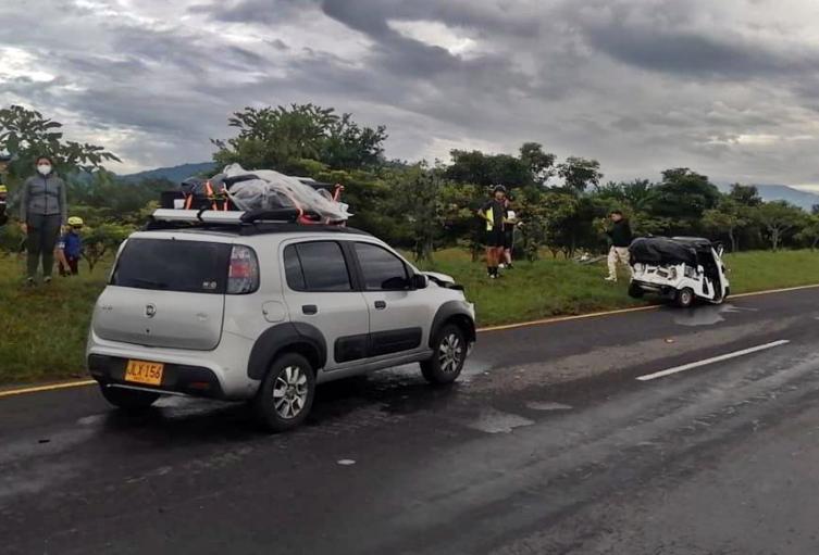 Falleció mototaxista tras accidentarse en inmediaciones de la glorieta Del Rodeo en Ibagué