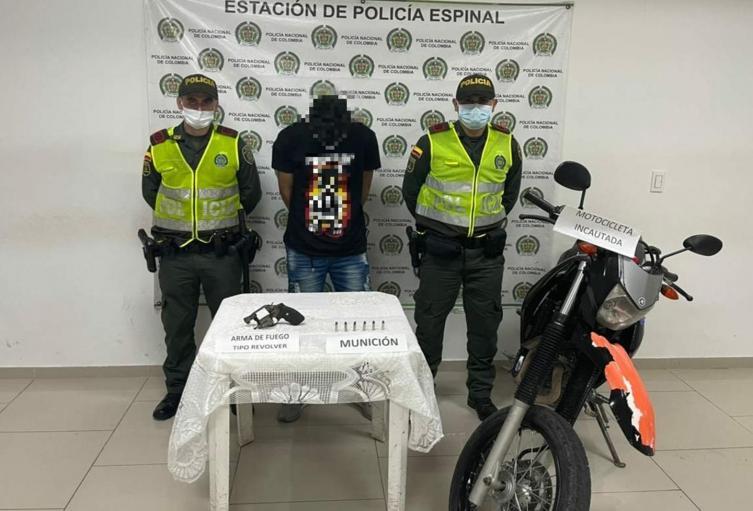 En mega – operativo recapturaron a 'Bombolín', quien se había fugado de la Estación de Policía en El Espinal