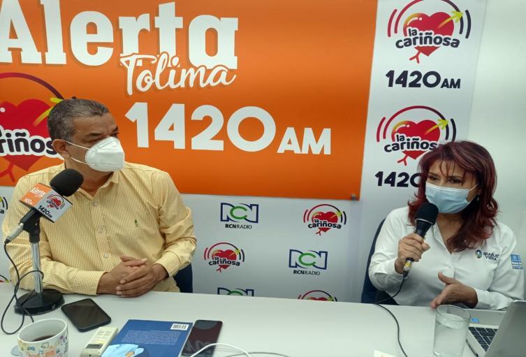 Carmen Sofía Bonilla, secretaria de Desarrollo Económico de Ibagué