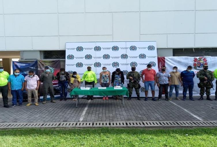 Tras contundente golpe cayó banda 'El Cabo' en operativos realizados en Ibagué, Mocoa, Putumayo y Piamonte Cauca.