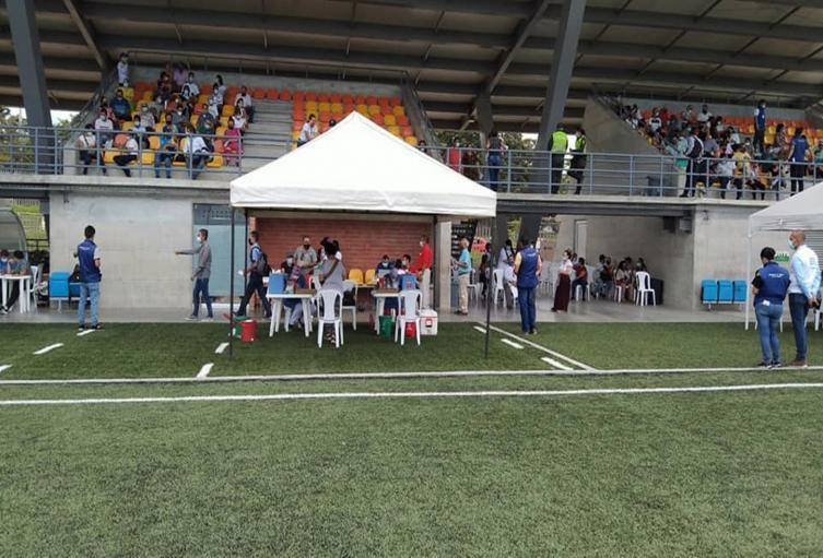 Escenarios deportivos con jornada de vacunación en Ibagué