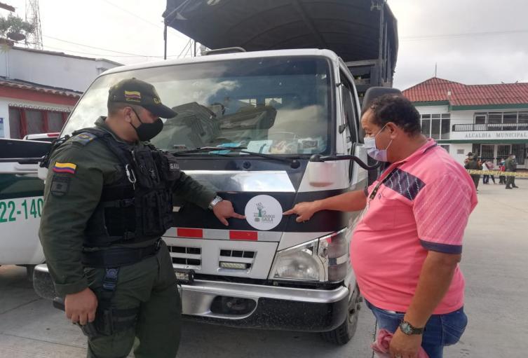 Gaula de Policía Tolima realizó campaña de prevención contra la extorsión en 'falso servicio'