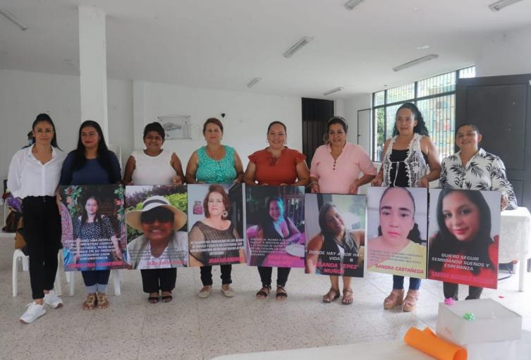 Mujeres victimas