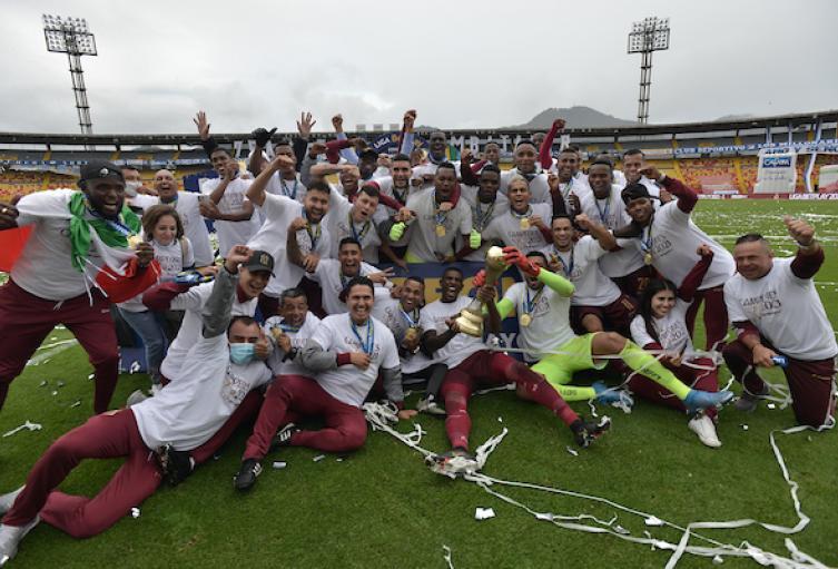 Fifa felicita a Tolima