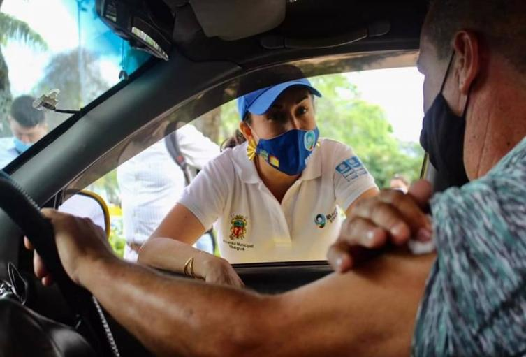 Vacunanción en conductores Ibagué