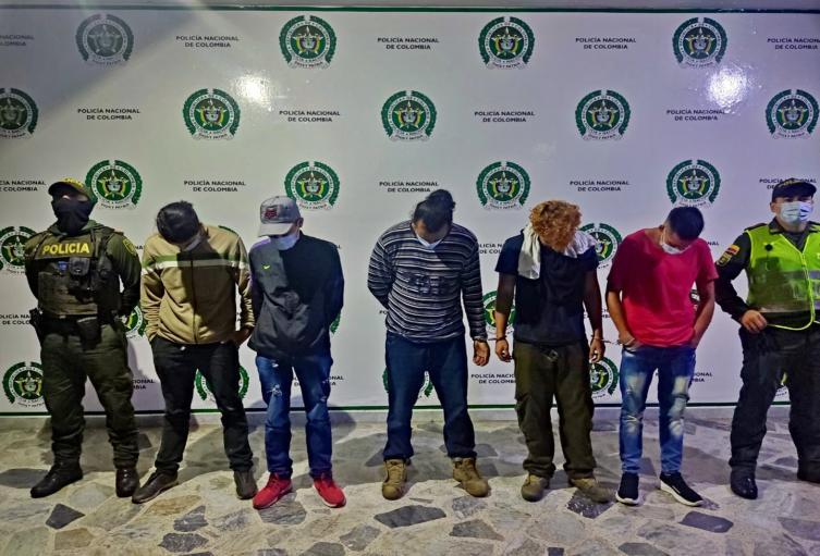 Cinco capturas y tres aprehensiones por actos vandálicos en inmediaciones de la Universidad del Tolima