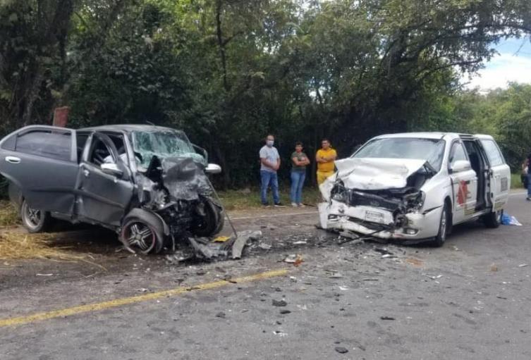 Tres personas muertas en la vía Hobo-Gigante, sector las Vueltas