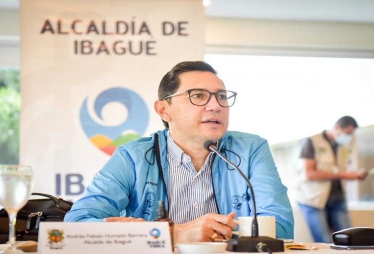 Alcalde Andrés Fabián Hurtado