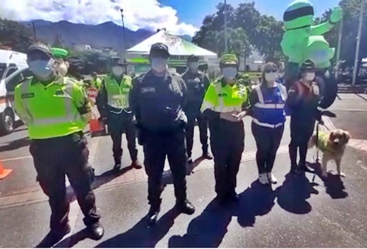 Se efectuaron operativos y planes en Ibagué, Cajamarca y Alvarado.