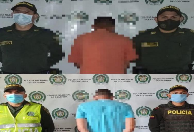 Capturaron en Carmen de Apicalá dos sujetos requeridos por las autoridades de Cundinamarca